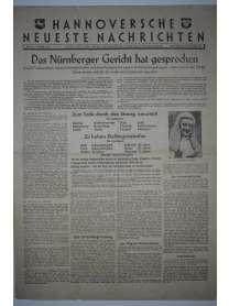 Hannoversche Neueste Nachrichten - Nr. 27 - 2. Oktober 1946