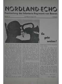 NORDLAND-ECHO - Frontzeitung des Infanterie-Regiments von Beeren - Nr. 33 - 16. August 1941