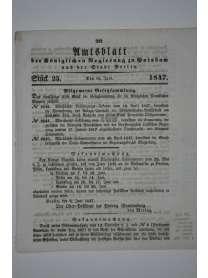Amtsblatt der Königlichen Regierung zu Potzdam und der Stadt Berlin - Nr. 25 - 18. Juni 1847