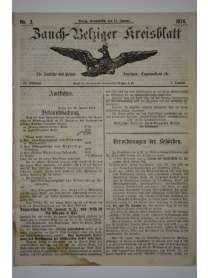 Zauch-Belziger Kreisblatt - Nr. 3 - 17. Januar 1874