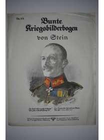 Bunte Kriegsbilderbogen - von Stein - Nr. 19 - 1915
