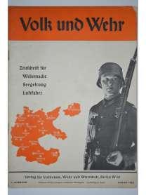 Volk und Wehr - Zeitschrift für Wehrmacht, Seegeltung und Luftfahrt - August 1938