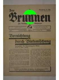 Der Brunnen - Für Deutsche Wesensart - 4. Folge - 15. Hornung 1934