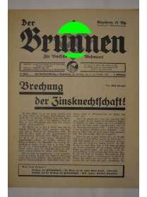 Der Brunnen - Für Deutsche Wesensart - 12. Folge - 17. Brachet 1934