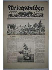 Kriegsbilder - Nr. 32 - 5. August 1916 - Deutsche Tageszeitung