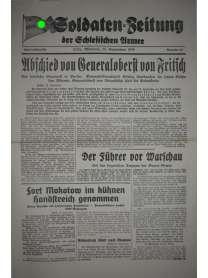 Soldaten-Zeitung der Schlesischen Armee - Nr. 19 - 27. September 1939