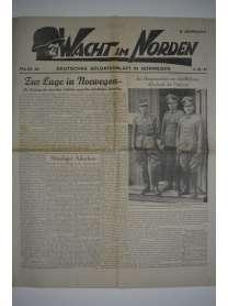 WACHT IM NORDEN - Soldatenblatt - Nr. 40 - 4. Oktober 1941