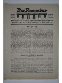 Der Rammbär - Nachrichtendienst des Brücken Bau Bataillons 646 - Nr. 2 - 1939