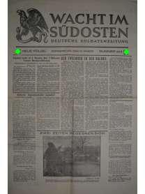 WACHT IM SÜDOSTEN - Deutsche Soldatenzeitung - Nr. 403 - 13. März 1941