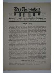 Der Rammbär - Nachrichtendienst des Brücken Bau Bataillons 646 - Nr. 3 - 1939