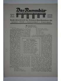 Der Rammbär - Nachrichtendienst des Brücken Bau Bataillons 646 - Nr. 4 - 1939