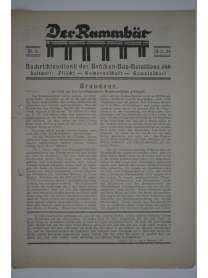 Der Rammbär - Nachrichtendienst des Brücken Bau Bataillons 646 - Nr. 6 - 1939
