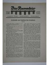 Der Rammbär - Brücken Bau Bataillon 646 - Nr. 7A - 1939 - Sondernummer