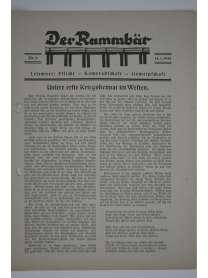 Der Rammbär - Brücken Bau Bataillon 646 - Nr. 9 - 1940