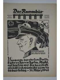 Der Rammbär - Brücken Bau Bataillon 646 - Nr. 15 - 1940