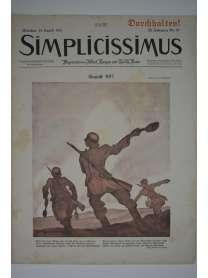Simplicissimus - Nr. 20 - 14. August 1917