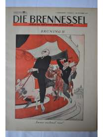 Die Brennessel - Folge 21 - 28. Oktober 1931