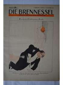 Die Brennessel - Folge 24 - 18. Nobember 1931
