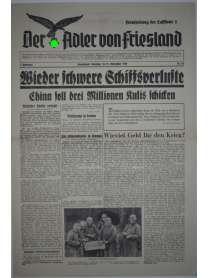 Der Adler von Friesland - Frontzeitung der Luftflotte 2 - Nr. 65 - 18./19. November 1939