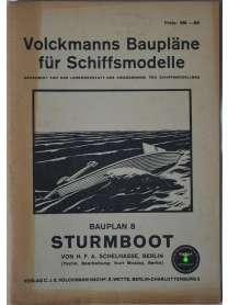 Volckmanns Baupläne für  Schiffsmodelle - Nr. 8 - Sturmboot