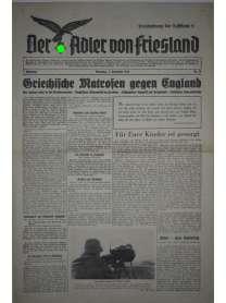 Der Adler von Friesland - Frontzeitung der Luftflotte 2 - Nr. 79 - 5. Dezember 1939