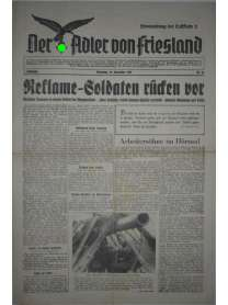 Der Adler von Friesland - Frontzeitung der Luftflotte 2 - Nr. 85 - 12. Dezember 1939