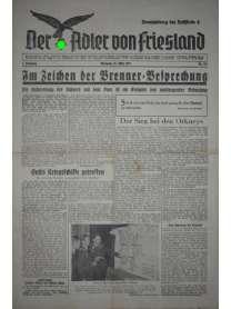 Der Adler von Friesland - Frontzeitung der Luftflotte 2 - Nr. 167 - 20. März 1940