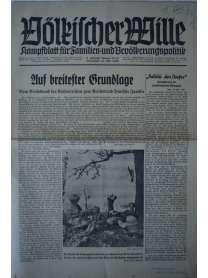 Völkischer Wille - Nr. 19/20 - 16. Mai 1940