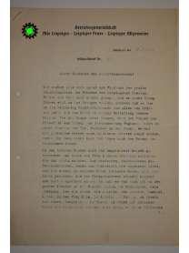Feldpostbrief - Leipziger Versicherungs-Gemeinschaft am Dittrichring - Nr. 7 - 27. Juli 1940