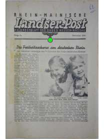 Rhein-Mainische Landser-Post - Feldpostblatt Hessen-Nassau - Folge 5a - November 1944
