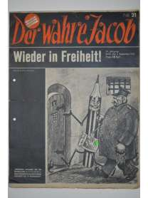 Der Wahre Jacob - Nr. 21 - 3. September 1932
