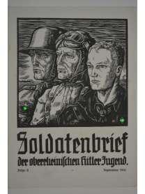 Soldatenbrief - der oberrheinischen Hitler-Jugend - 8 - September 1941