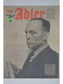 Der Adler - Nr. 9 - Mai 1943 - englische Ausgabe