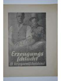 Erzeugungsschlacht ist Kriegsentscheidend - Die Winterkrise und der totale Krieg - Dr. Goebbels - 1943