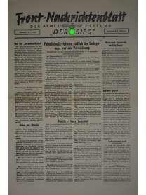 """Front-Nachrichtenblatt der Armee-Zeitung """"DER SIEG"""" - Nr. 211 - 3. Oktober 1942"""