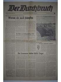 Der Durchbruch - Soldatenzeitung an der Ostfront - Nr. 405 - 28. März 1943