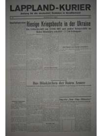 LAPPLAND-KURIER - Nr. 18 - 21. August 1941