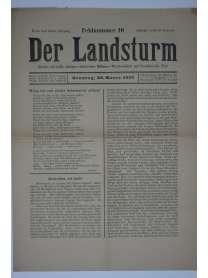 Der Landsturm - Feldnummer 10 - 28. März 1915