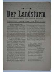 Der Landsturm - Feldnummer 11 - 18. April 1915
