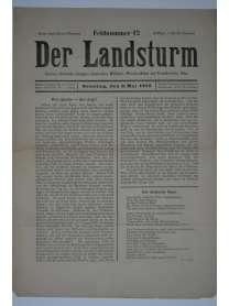 Der Landsturm - Feldnummer 12 - 9. Mai 1915