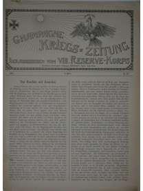Champagne-Kriegszeitung - VIII. Reserve-Korps - Nr. 99 - 4. März 1916