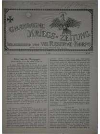 Champagne-Kriegszeitung - VIII. Reserve-Korps - Nr. 118 - 17. Mai 1916