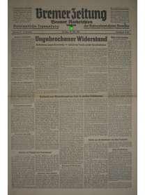 Bremer Zeitung - Nr. 73 - 27. März 1945