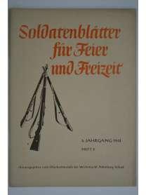 Soldatenblätter für Feier und Freizeit - Heft 2 - 1942