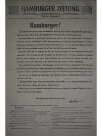 Hamburger Zeitung - Extra-Ausgabe - 3. Mai 1945 - Letzte Ausgabe