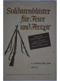 Soldatenblätter für Feier und Freizeit - Heft 9 - 1944