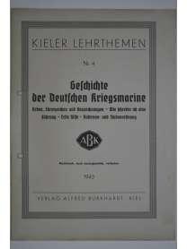 Kieler Lehrthemen - Geschichte der Deutschen Kriegsmarine - Nr. 4 - 1943