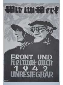 Wir im Werk - Werkzeitschrift - Kriegsweihnacht 1941