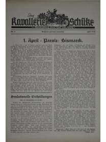 Der Kavallerie-Schütze - Nr. 5 - April 1940
