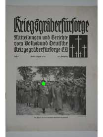 Kriegsgräberfürsorge - Heft 8 - August 1940